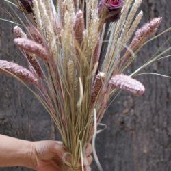 fleurs séchées fleurs stabilisées
