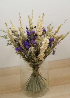 Bouquet Delphinium Statice Violet
