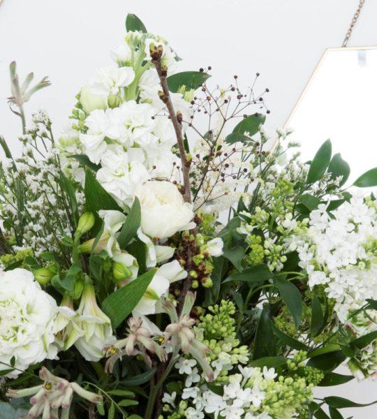 Bouquet tons blanc