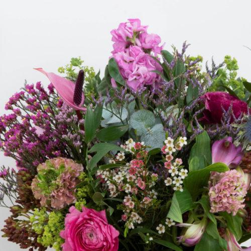 Bouquet tons roses